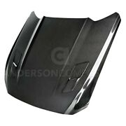 For Ford Mustang 15-17 Ac-hd15fdmugt--ds Type- Gloss Carbon Fiber Hood W Vents