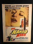 The Naked Kiss 1964 30x40 Movie Poster Constance Towers Sam Fuller Noir