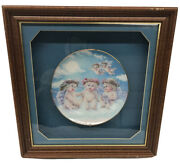 Dreamsicles The Flying Lesson Hamilton Collection Plate 1994 Kristen Framed