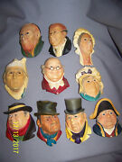 Charles Dickens Character Heads By Bossons
