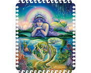 Davici Wooden Whimsy Jigsaw Puzzle. Zodiac Signs. Fishes Pisces-100pcs.