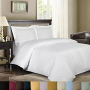 Royal Hoteland039s Stripe Ivory 600 Thread Count 4pc Queen Bed Sheet Set 100 Cott...