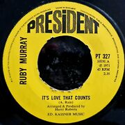Ruby Murray - It's Love That Counts / Ways And Means - Rare Ex Con 1971 7