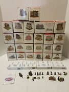 Huge Lot Liberty Falls Village The Americana Collection 66 Pieces