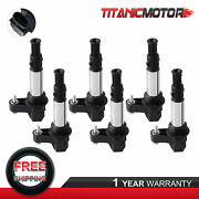 Kit6 Ignition Coils For Buick Enclave Lacrosse Saab 9-3 Chevy Vectra Uf375