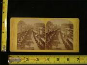 America Illustrated, Stereoview - Grand Military March, Boston, Mass., C.1875
