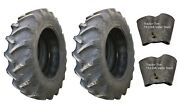2 New Tires And 2 Tubes 16.9 30 Harvest King R1 Tractor Rear 8 Ply Tt 16.9x30 Fs