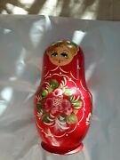 Vintage Russian Nesting Dolls 8 Inch 13 Piece Set Signed And Dated Authentic