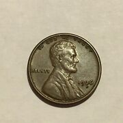 1926-s Lincoln Cent Penny - Au - Sharp Well Struck Coin With A Nice Color
