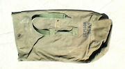 Us / Usaf Air Force Vietnam War Era 1971 Dated Canvas Duffel Bag Used Condition