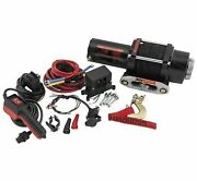 Quadboss 3500 Lb Winch With 39 Ft. Dyneema Rope Rp35ws