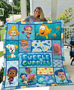 Bubble Guppies Quilt Blanket Gifts Birthday Christmas For Kid Nonny Oona Gil