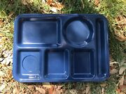 Texas Warevintage Navy Blue146 Lunch Serving Tray10 X 141 Or All1+ Ship