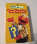 Ctwsesame Streetelmoand039s Sing-along Guessing Gamevhs You Pick1+ Ship