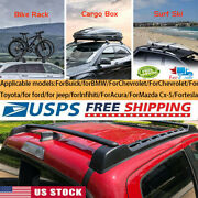 For Many Optional Type/ Year Car Roof Bag Rack Cross Rail Bar Luggage Carrier