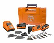 Fein 71292761090 18-volt Cordless Oscillating Multi-tool With Case - Afsc18qsl