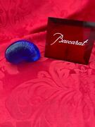 Flawless Exquisite Baccarat France Art Crystal Nautilus Sea Shell Snail Figurine