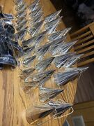 Dept 56 The Silver Collection Cone Candy Holders Set Of 32 Silver Plate On Brass