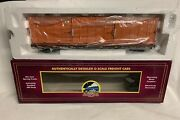 ✅mth Premier Trash Containers On Norfolk Southern 60' Flatcar 20-98885