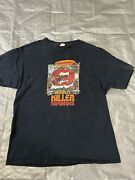 Vintage 90s Attack Of The Killer Tomatoes Movie Promo T Shirt Size Large 73