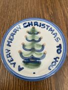 M A Hadley Pottery Vintage A Very Merry Christmas To You