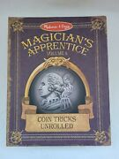Melissa And Doug Magicianand039s Apprentice Vol 4 Coin Tricks Unrolled Used Nice Gift