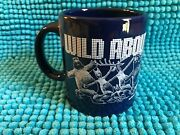 Wild About Anchorage  Navy Blue And White Coffee Mug By Waechtersbach Spain