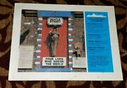 Beatles Liverpool Tourism Original 80s Poster 4 Lads Who Shook The World
