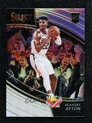 2018-19 Panini Select Courtside Silver Prizm Deandre Ayton 209 Rookie
