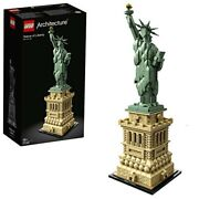 Lego Architecture Statue Of Liberty 21042 Building Kit 1685 Piecesjapan