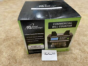 Brand New Royal Sovereign Commercial Bill Counter Rbc-1515 Fast Shipping