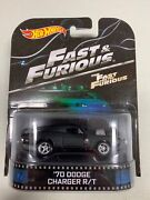 Hot Wheels Retro Fast And The Furious And03970 Dodge Charger R/t New Free Shipping
