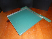 Vintage Premier Photo Materials Company Paper Cutter 13 X 13 - Made In Usa