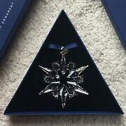 Large Star Annual Christmas Ornament 2007 Inner And Outer Boxes And Coa