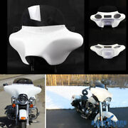 Detachable Batwing Fairing 6x9 Speaker Stereo Cut Out For Harley Road King 94-17