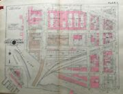 1946 Washington D.c. Potomac Park 10th To 15th Standindependence To F St Atlas Map