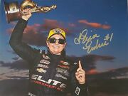 Erica Enders Signed 8.5 X 11 Nhra Pro Stock Champ Ee01