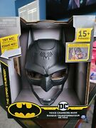 Batman Voice Changing Mask W/over 15 Phrases Kids Dc Lighted Caped Crusader