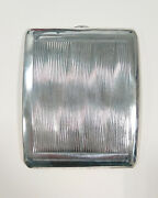 Art Deco Cigarette Holder Sterling Silver With French Hallmarks