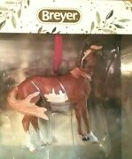 Breyer Mustang Beautiful Breeds Ornament Holiday Line 19th In Series 2020