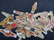 50 Assorted Cigar Bands Labels Vitolas Collection Collectible Pre-embargo