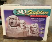 3d Sculpture Puzzles Mount Rushmore Challenging Layer Puzzle New In Box 1998
