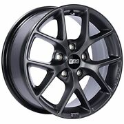 Bbs Sr Satin Grey Wheel With Painted Finish 18 X 8. Inches /5 X 112 Mm 35 Mm O