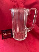 Flawless Exquisite Baccarat France Art Glass Harmonie Crystal Pitcher Carafe
