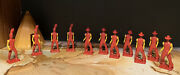 Lot 11 Ausley 1950's Vintage Cowboys And Indians Made In Usa