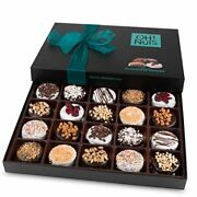 Chocolate Covered Cookie Gift Baskets 20 Variety Gourmet Assortment Set