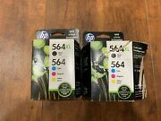 New Hp 564xl Ink Cartridge Pack - Pack Of Two - Missing One Xl Black - New