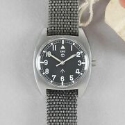 Cwc W10 British Military And039crows Footand039 Tritium Wristwatch W/ Military Issue Tags