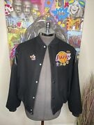Vintage Chalk-line Lakers Championship Pinned 80andrsquos Jacket