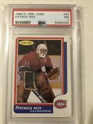 1986-87 Opc O-pee-chee Patrick Roy Rc Rookie Psa 7 Montreal Canadiens 53